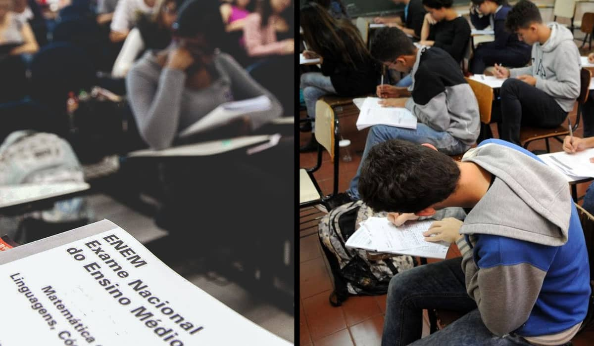 As provas impressas serão mantidas em 17 e 24 de janeiro para 5,68 milhões de estudantes