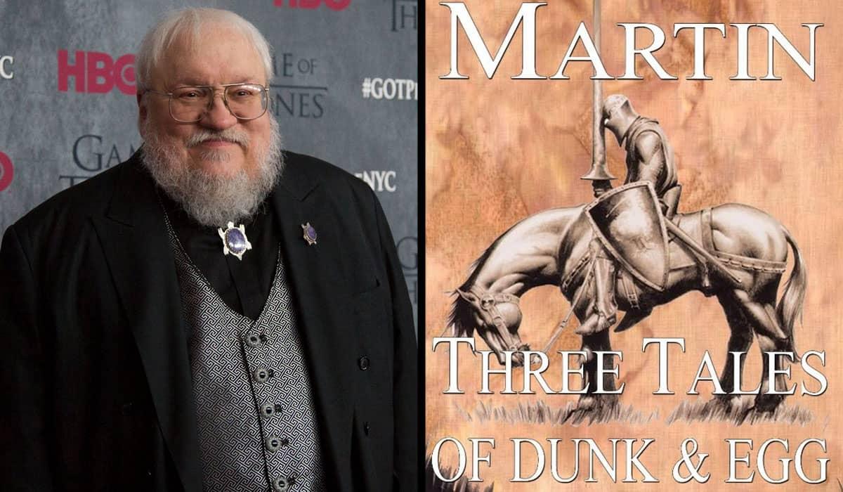 A obra seguirá as aventuras de Ser Duncan, o Alto (Dunk) e um jovem Aegon V Targaryen (Egg) 90 anos antes dos eventos de 'A Song of Ice and Fire'