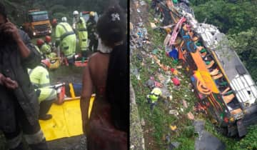 O ônibus saiu de Ananindeua, no Pará, e tinha como destino Balneário Camboriú, em Santa Catarina