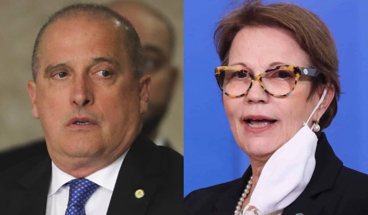 Deputados pelo Democratas, Onyx e Tereza fazem parte da estratégia de Bolsonaro para a eleição à presidência da Câmara
