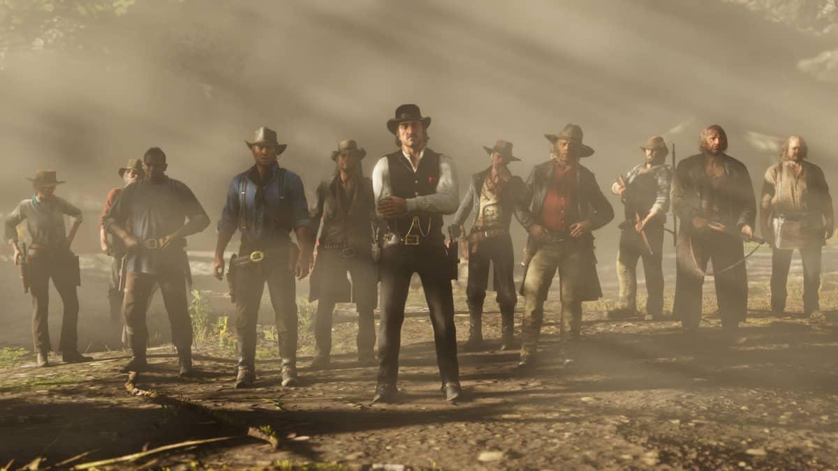 Red Dead 2 é um dos destaques na promoção de final de ano da Steam.