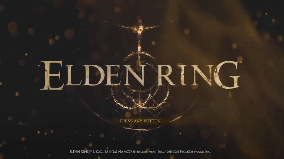 Possível tela de abertura de Elden Ring aparece no Youtube e fãs comemoram. Foto: Reprodução Youtube.