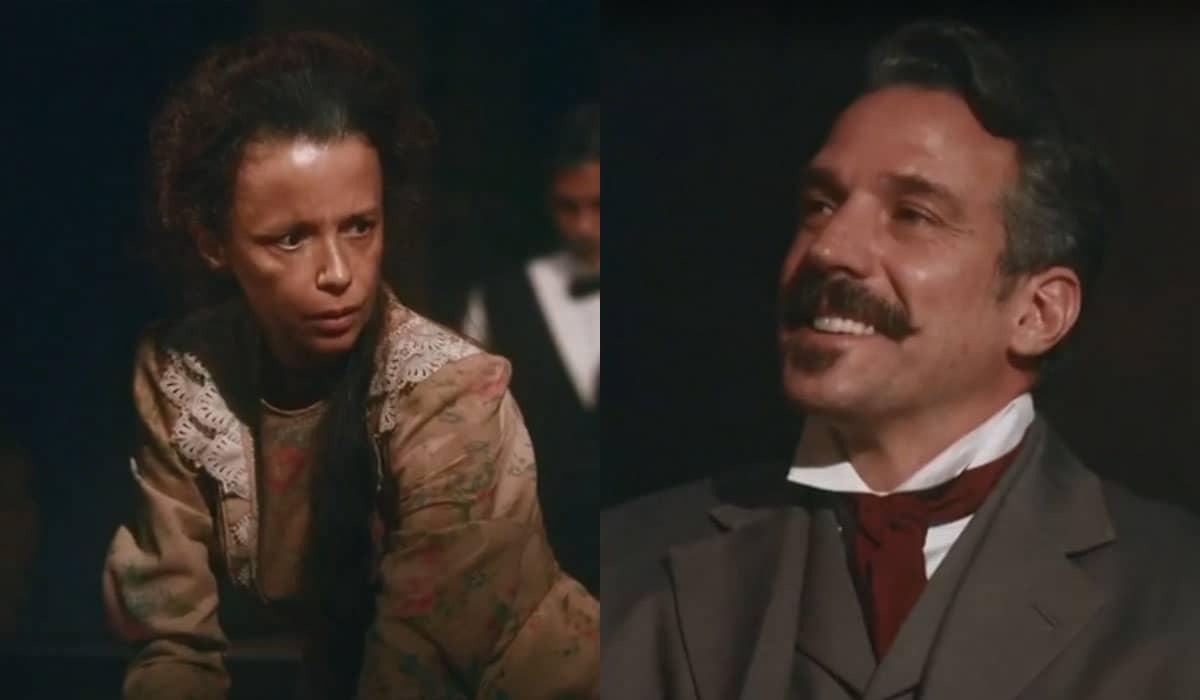 A esposa de Quinzinho não resistirá aos encantos de Alberto e irá abandonar a família para viver um novo romance