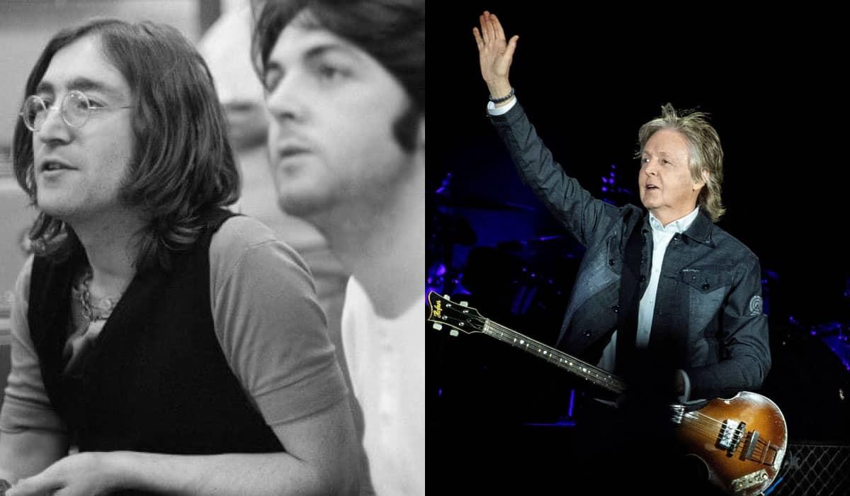 McCartney disse que John Lennon queria promover a paz mundial, e que era impossível 'argumentar contra isso'