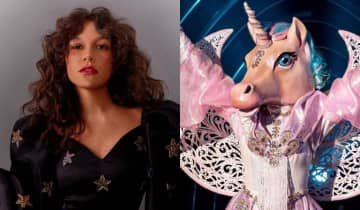 A cantora de 25 anos venceu Jéssica Ellen (gata espelhada), Cris Vianna (arara) e Nicolas Prattes (monstro) na final do Masked Singer