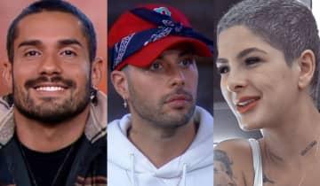Bil Araújo, Gui Araujo e Lary Bottino se enfrentam na Prova do Fazendeiro desta quarta-feira (20)
