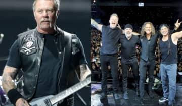 Os shows do Metallica no Brasil foram reagendados para maio de 2022, em Porto Alegre, Curitiba, São Paulo e Belo Horizonte