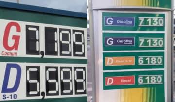 O anúncio de reajuste da Petrobras prevê alta de 7,04% para a gasolina e 9,15% para o diesel a partir da próxima terça-feira (26)