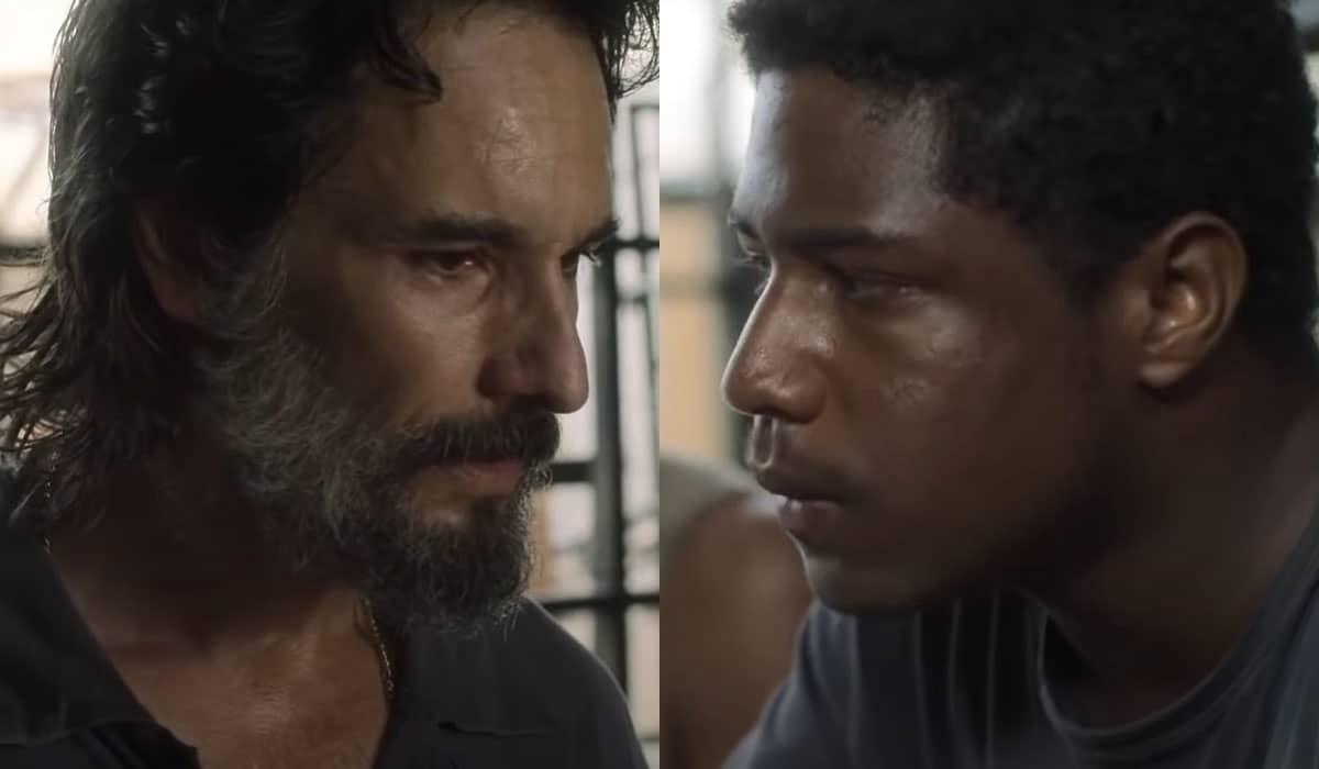 Rodrigo Santoro interpreta Luca, um gerente de ferro-velho cujos funcionários trabalham em situação análoga à escravidão