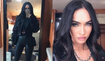 A atriz utilizou o Instagram para mostrar aos seguidores como será seu traje no próximo filme da franquia