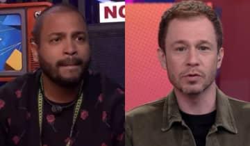 O apresentador agradeceu o rapper pelo 'enquadro' em Lucas e dividiu opiniões na web