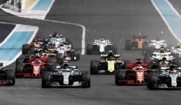 A emissora preenche sua programação com várias inserções de comercial e reportagens sobre a transmissão da F1