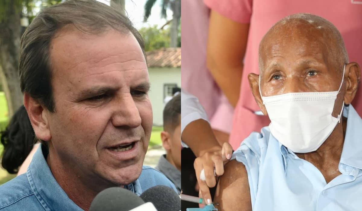 Eduardo Paes espera receber novas doses da CoronaVac somente na próxima semana
