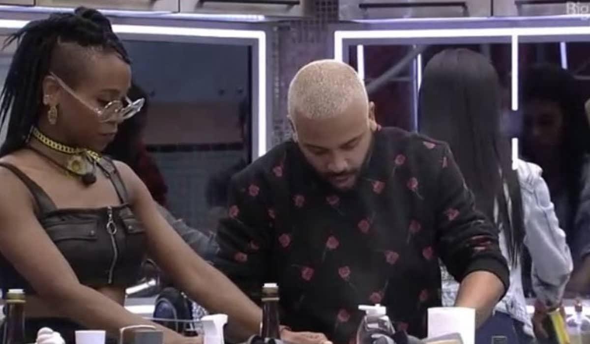 Em conversa com Projota, Nego Di e Arthur, a rapper afirmou que previu uma agressão e que outros participantes também estavam com medo de Gil