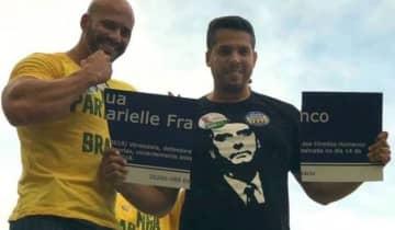 Silveira posou com a placa de Marielle quebrada em 2018, invadiu escola, ameaçou manifestantes e é investigado por fake news