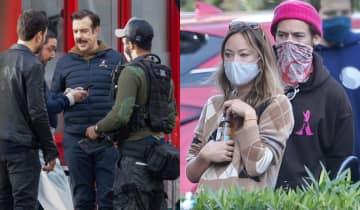 O ator teria recebido ajuda de Keeley Hazell para superar a separação de Olivia Wilde
