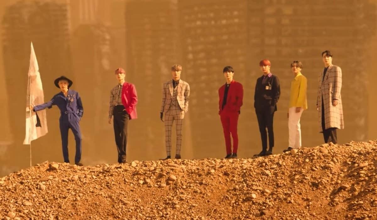 O novo álbum está rendendo novas conquistas empolgantes ao grupo sul-coreano, que também lançou o clipe de 'Fireworks (I'm the One)'