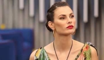A modelo brasileira tem grande chances de faturar o prêmio de 100 mil euros na final do reality show italiano