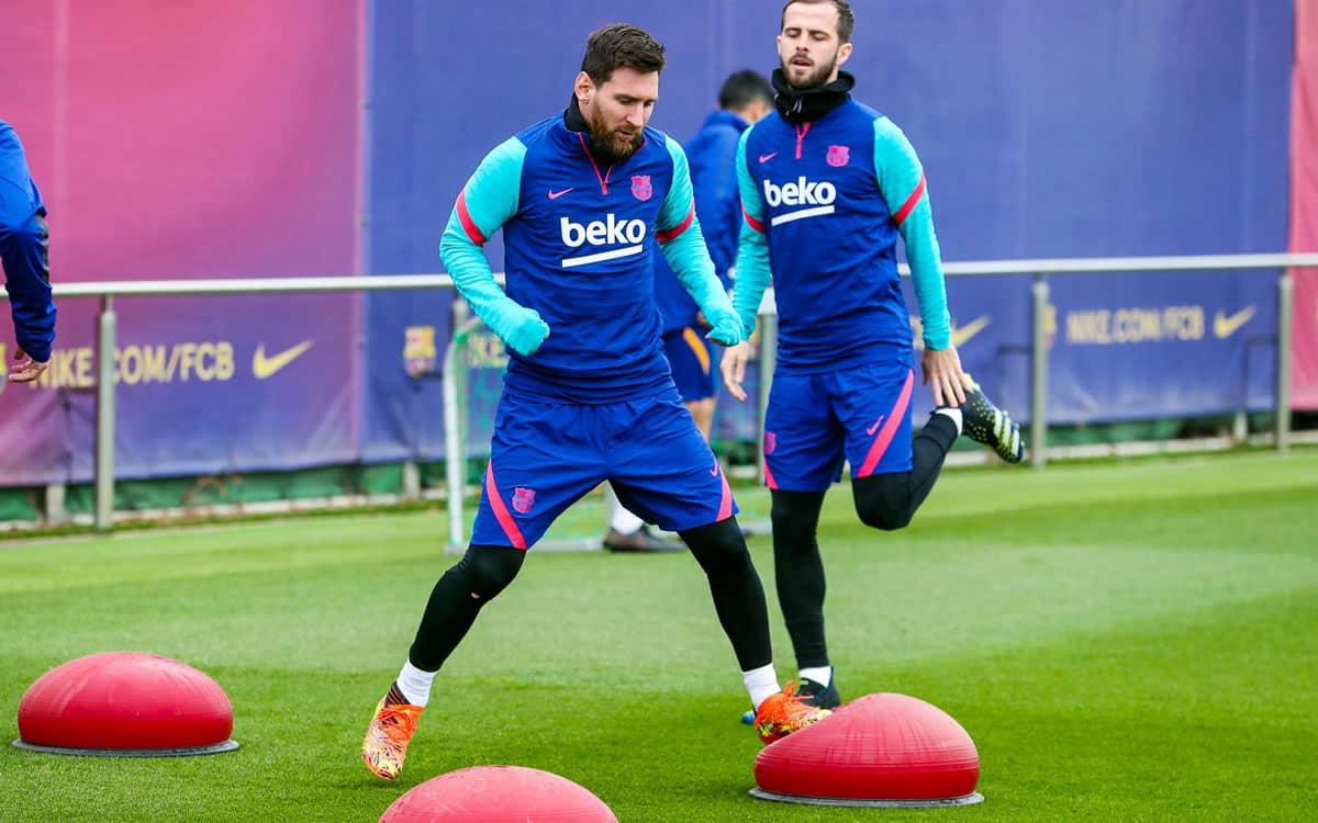 Messi deve começar como titular no jogo entre Real Sociedad e Barcelona. Foto: Reprodução Facebook Barcelona.