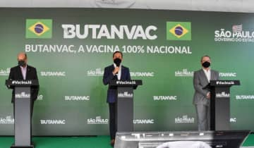 A previsão é de que 40 milhões de doses da Butanvac estejam disponíveis a partir de julho, caso a Anvisa aprove rapidamente o início dos estudos clínicos