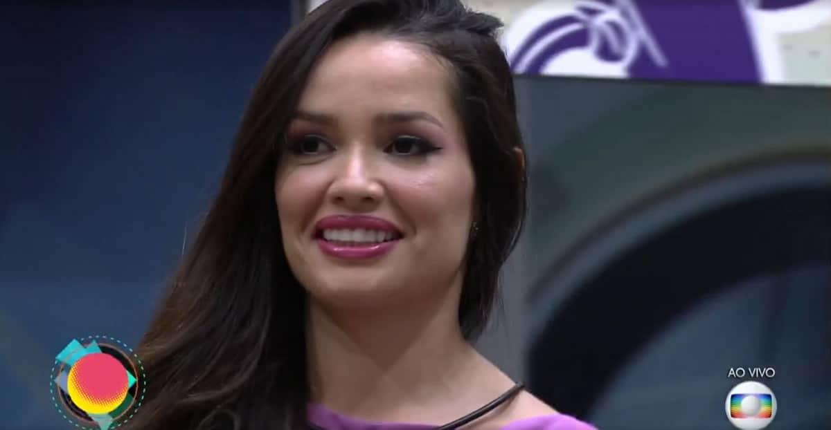 Juliette mostra força no paredão contra Rodolffo e Sarah. Foto: TV Globo.