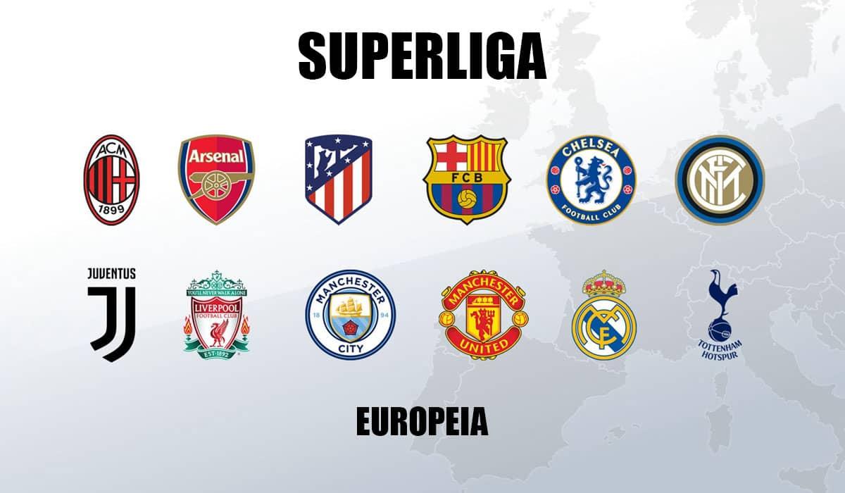 Doze grandes clubes da Europa anunciaram a criação de uma superliga em oposição ao formato atual da Champions League