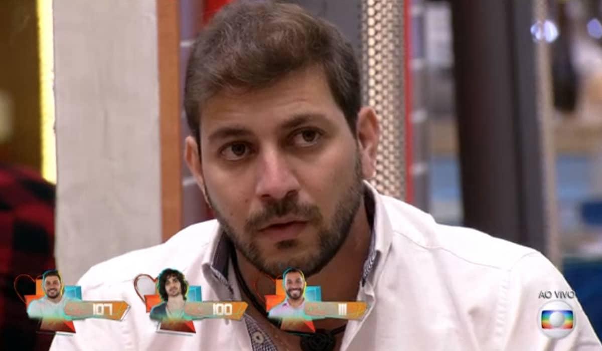Conforme previsto pela enquete do Diário 24 Horas, Caio foi eliminado do BBB 21 com 70,22%