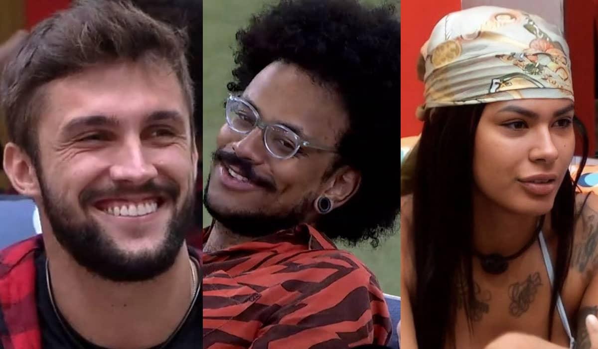 Arthur, João Luiz e Pocah disputam entre si em um paredão de grande relevância para a reta final