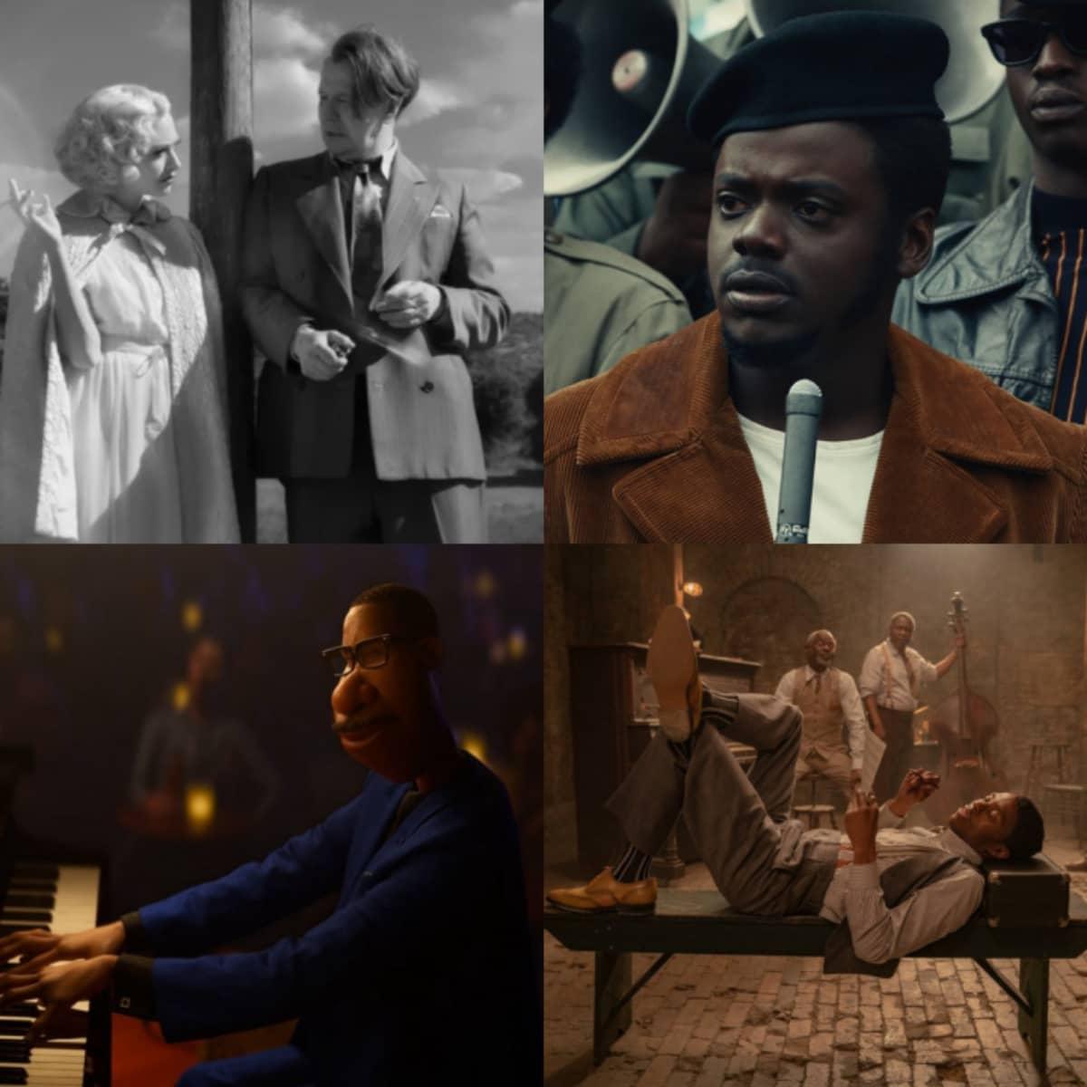 O filme da Netflix 'Mank' é o mais indicado deste ano concorrendo em 10 categorias.