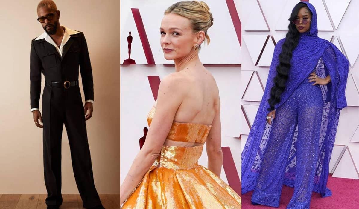 Mais uma vez, o tapete vermelho do Oscar reuniu looks extravagantes que encantaram o público