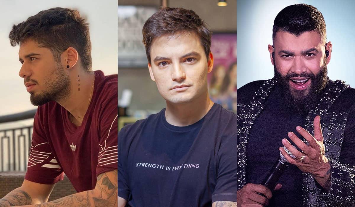 Os cantores sertanejos não gostaram de uma cobrança do youtuber sobre posicionamento antifascista na pandemia