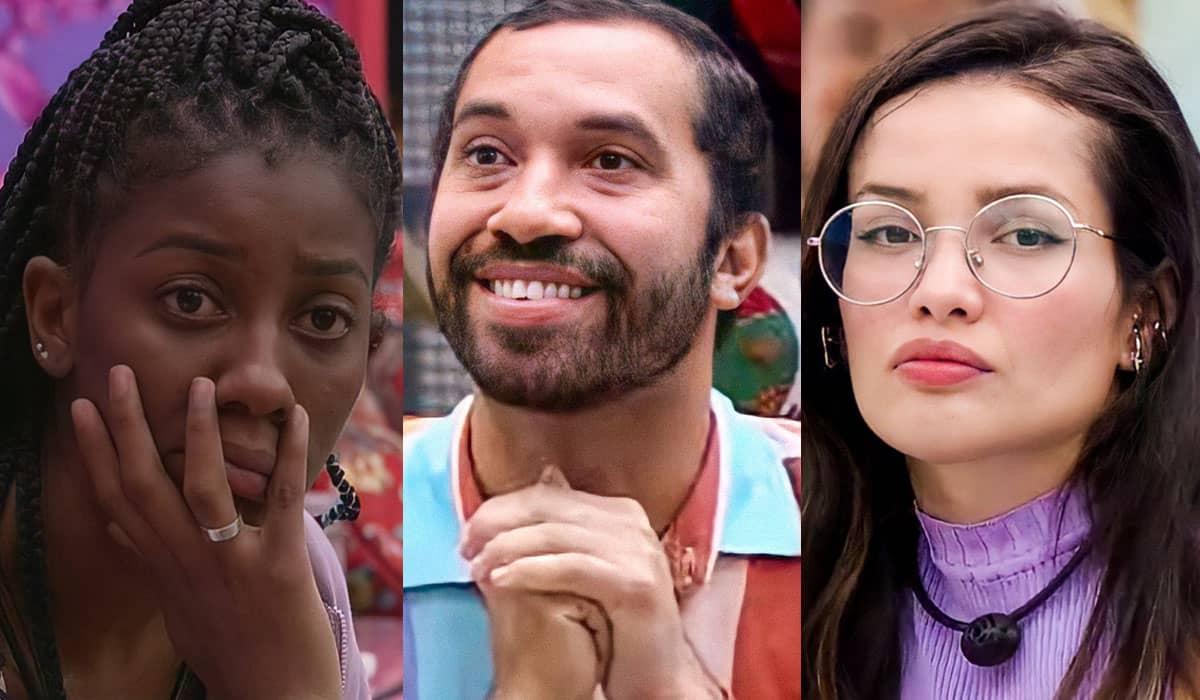 Camilla de Lucas, Juliette e Gilberto adquiriram ingressos para o Paredão após desistirem da última prova do BBB 21