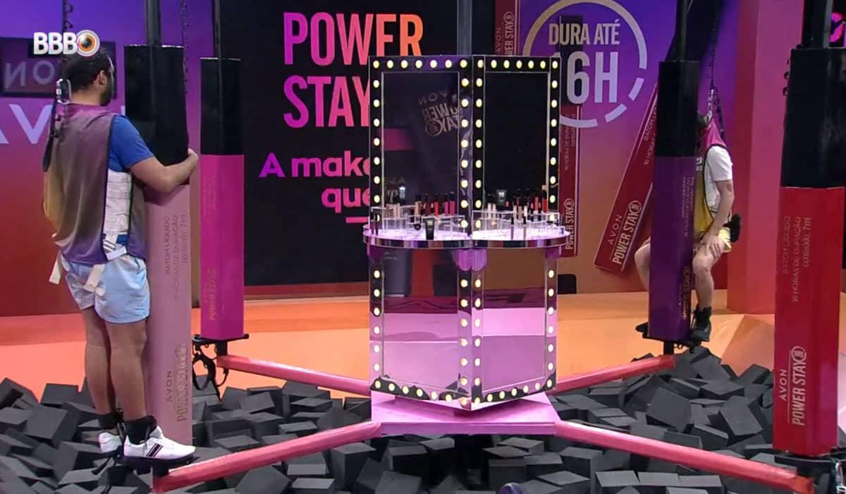 A prova de resistência da Avon define quem será o primeiro finalista do BBB 21