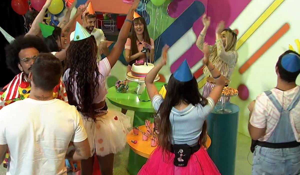 A festa com o tema infantil de Viih Tube marca uma fase decisiva para o BBB 21