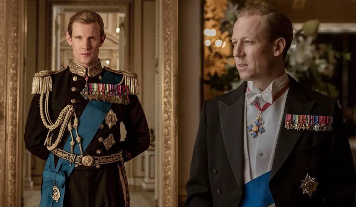 Os fãs da série estão relembrando o desempenho dos atores após o anúncio da morte do Duque de Edimburgo