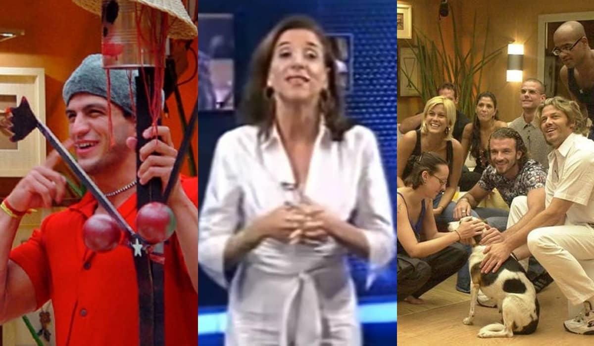 O Big Brother Brasil exibido em 2002 volta ao ar no canal Viva a partir da próxima terça-feira (11)