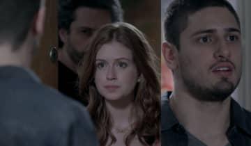 João Lucas aparece de surpresa no apartamento de Maria Ísis e dá de cara com José Alfredo