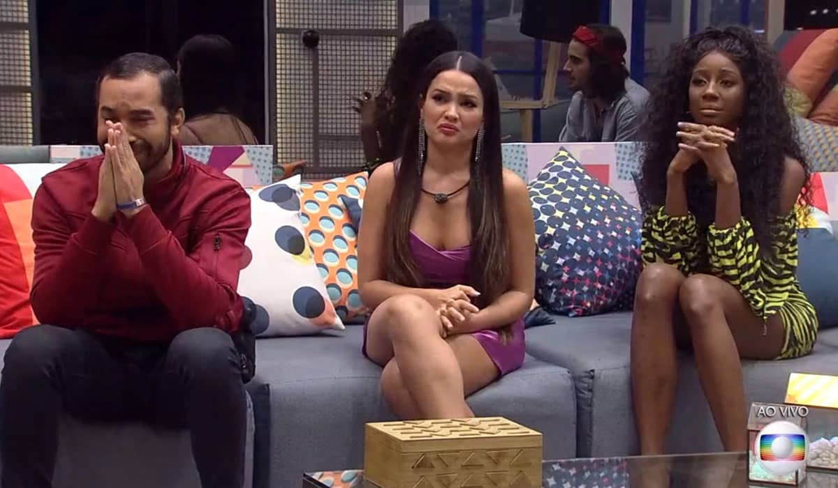 O resultado do Paredão deste domingo definirá a final do Big Brother Brasil 2021