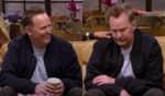 O intérprete de Chandler Bing aparece visivelmente emocionado em determinado momento do trailer do especial