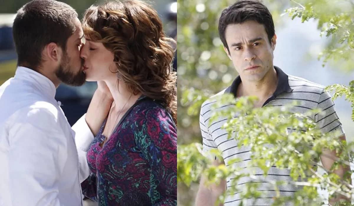 Fernando espiona Cristina após o término e toma atitudes desesperadas após flagra-la com Vicente