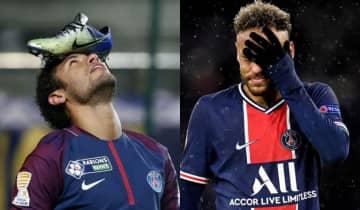 O atleta declarou indignação nas redes sociais e considerou 'ironia do destino' continuar vestindo a camisa do PSG com a marca da Nike estampada no peito