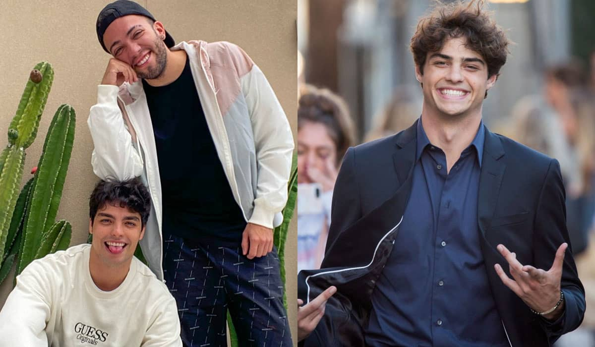 Rangel assumiu o namoro de sete meses com Lucas Bley, que ganhou diversas comparações com o ator Noah Centineo