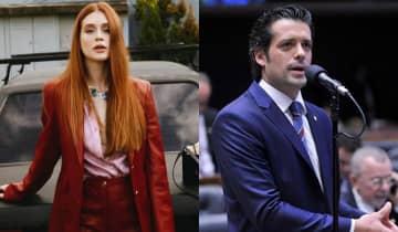 A atriz e o deputado federal estão fortalecendo a relação e já teriam viajado juntos para Dubai