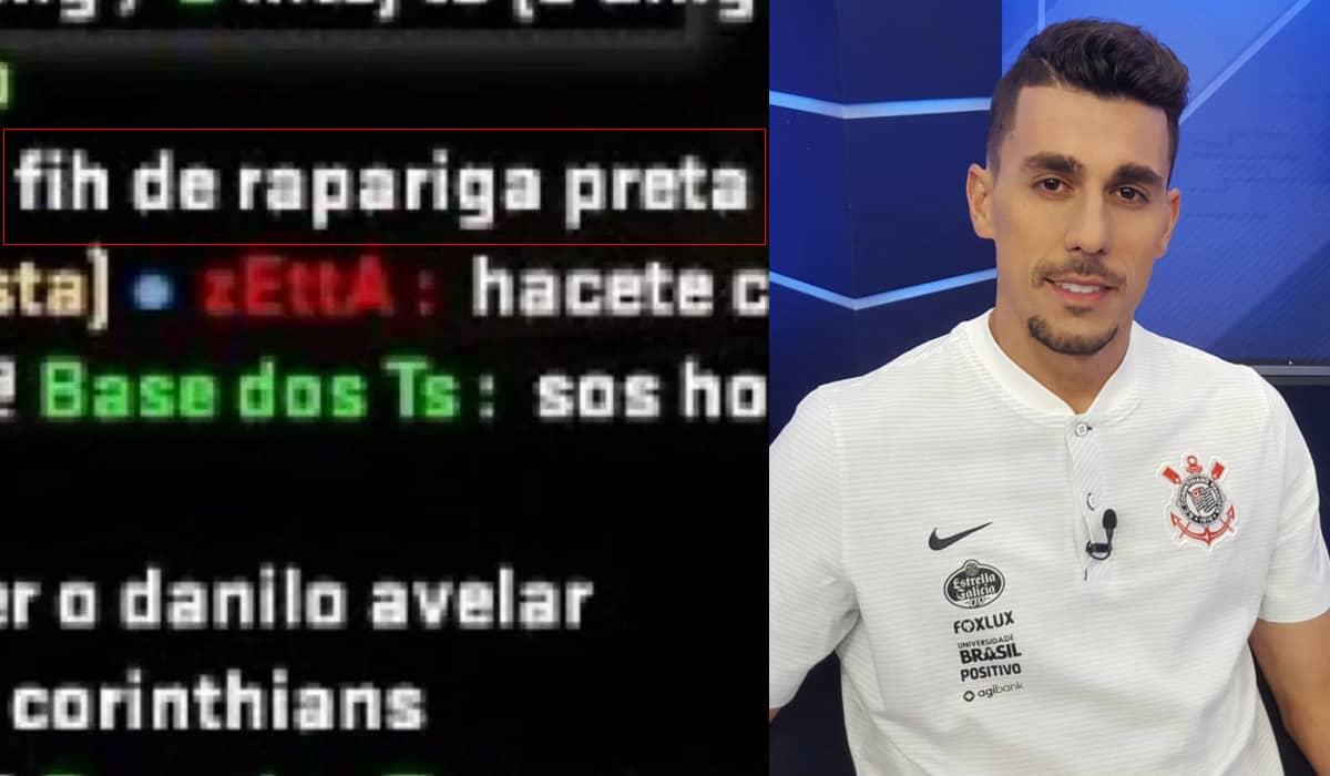 O jogador pediu desculpas ao Corinthians e aos seguidores, 'sobretudo com a comunidade afrodescendente'