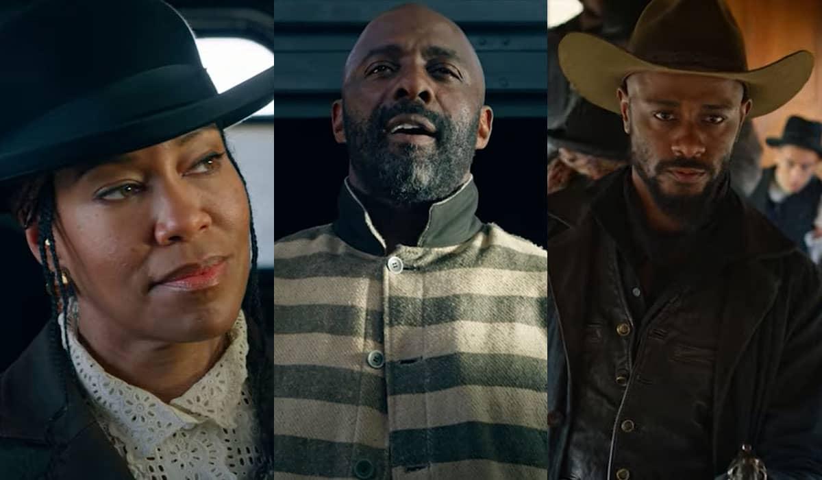 Classificado pela Netflix como uma 'nova classe de faroeste', o filme de Jeymes Samuel chegará em breve ao catálogo da plataforma de streaming e em cinemas selecionados