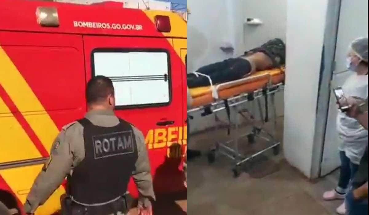 Lázaro chegou ao pronto-socorro sem vida após trocar tiros com policiais