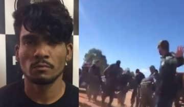 O suspeito foi detido pela polícia na manhã desta quarta-feira (28), conforme relatado pelo governador de Goiás, Ronaldo Caiado