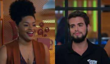 Renatinha (Juliana Paiva) e Catatau (Bernardo de Assis) protagonizarão o primeiro beijo entre um homem trans e uma mulher cisgênero na TV aberta