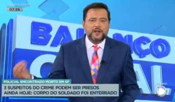 O apresentador retorna à TV para uma nova dinâmica do Balanço Geral após vencer a Covid-19