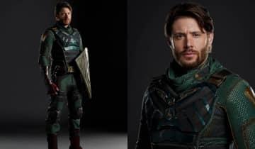 A estrela de 'Supernatural' finalmente aparece vestido como Soldier Boy nas imagens divulgadas pelo Amazon Prime Video